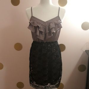Xhilaration RuffleTop Dress